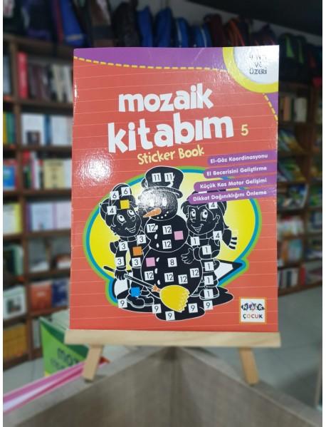 Mozaik kitabım 5 (sticker book)